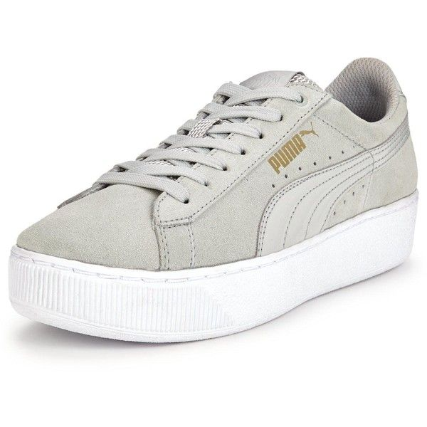 Puma Vikky Platform (€70) ❤ liked on Polyvore featuring shoes ... 32e7c84fa