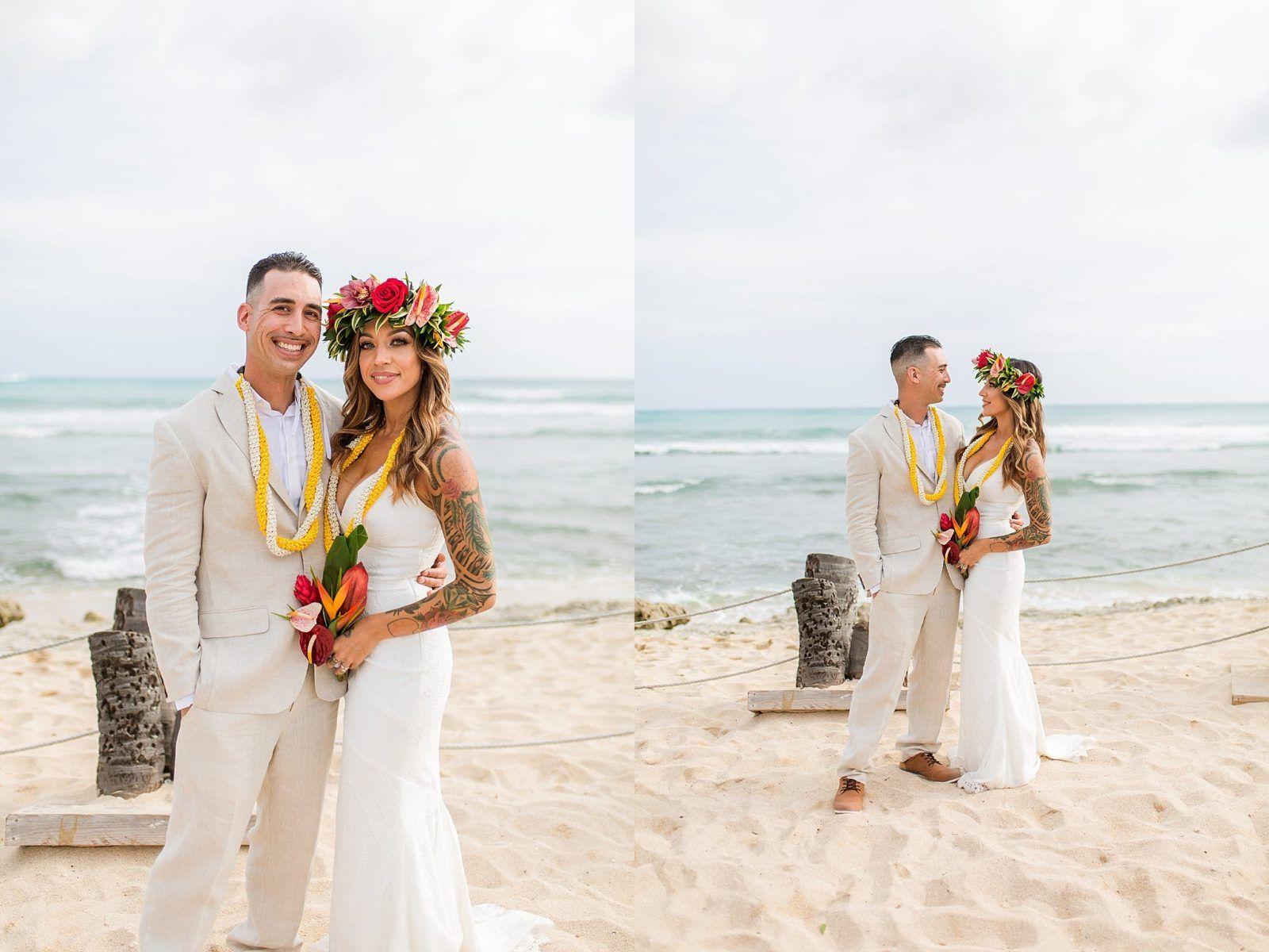Hawaii Wedding Photographer Jeanine And Hershel Germaine S Luau Wedding Luau Wedding Hawaiian Wedding Wedding