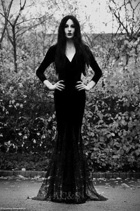 Gothic goth ML So Black Pinterest Gothic, Fiction and Books - terrifying halloween costume ideas