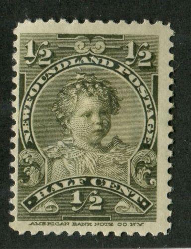 Newfoundland 78 1 2c Olive Edward Viii 1897 1901 Royal Family Issue F 70 Og Hr Postage Stamp Art Postage Stamp Design Newfoundland