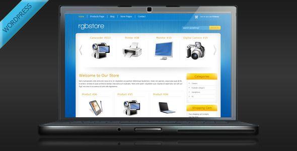 RGBStore - Online Store WordPress Theme | E-Commerce Wordpress ...