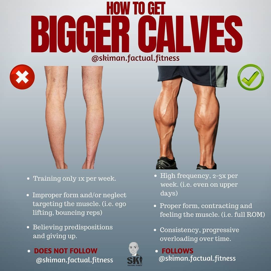 Achieve diamond shaped calves with these 4 useful calf