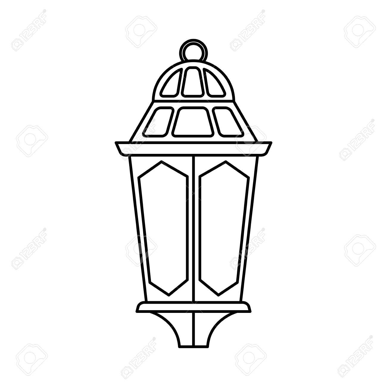 Ramadam Karem Lamp Hanging Vector Illustration Design Royalty Free Cliparts Vectors And St In 2020 Vector Illustration Design Illustration Design Vector Illustration