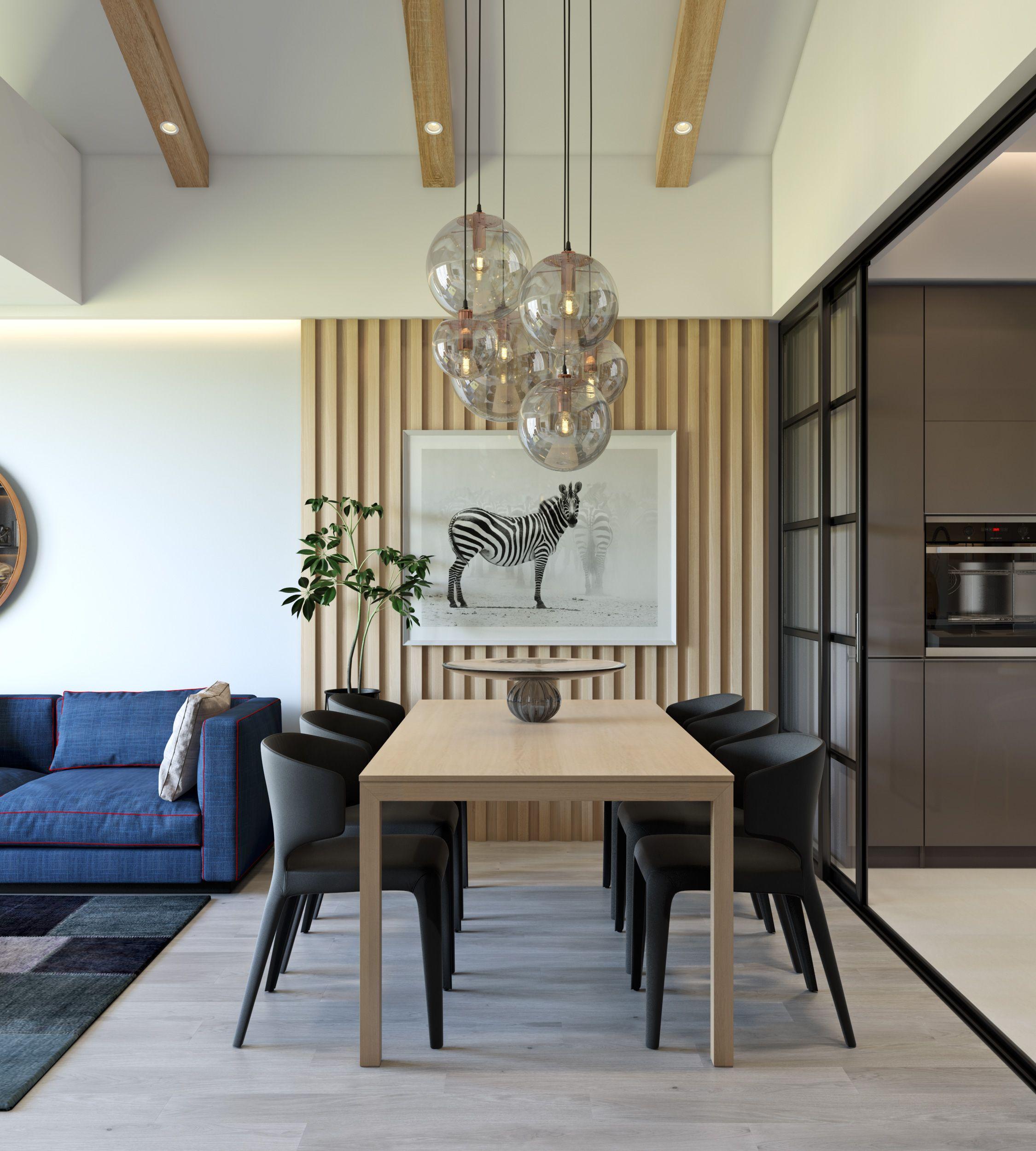 Trendy Dining Room Designs Combined With Modern And: Sala De Jantar Minimalista, Salas De