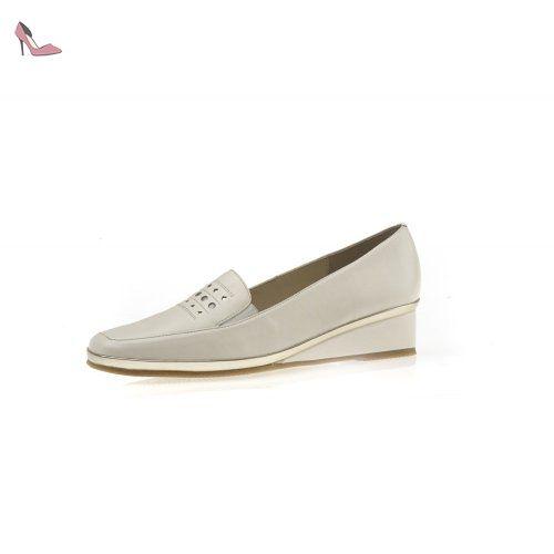 van dal nougat blanc chaussures