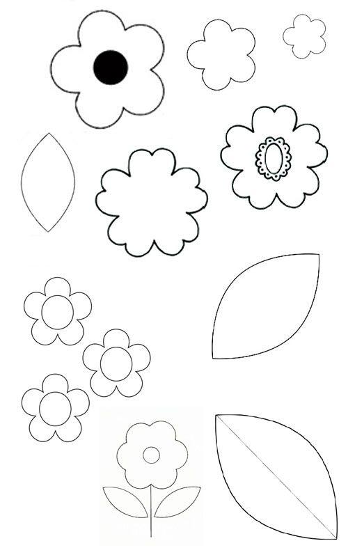 замечают, картинки цветы лекало могут