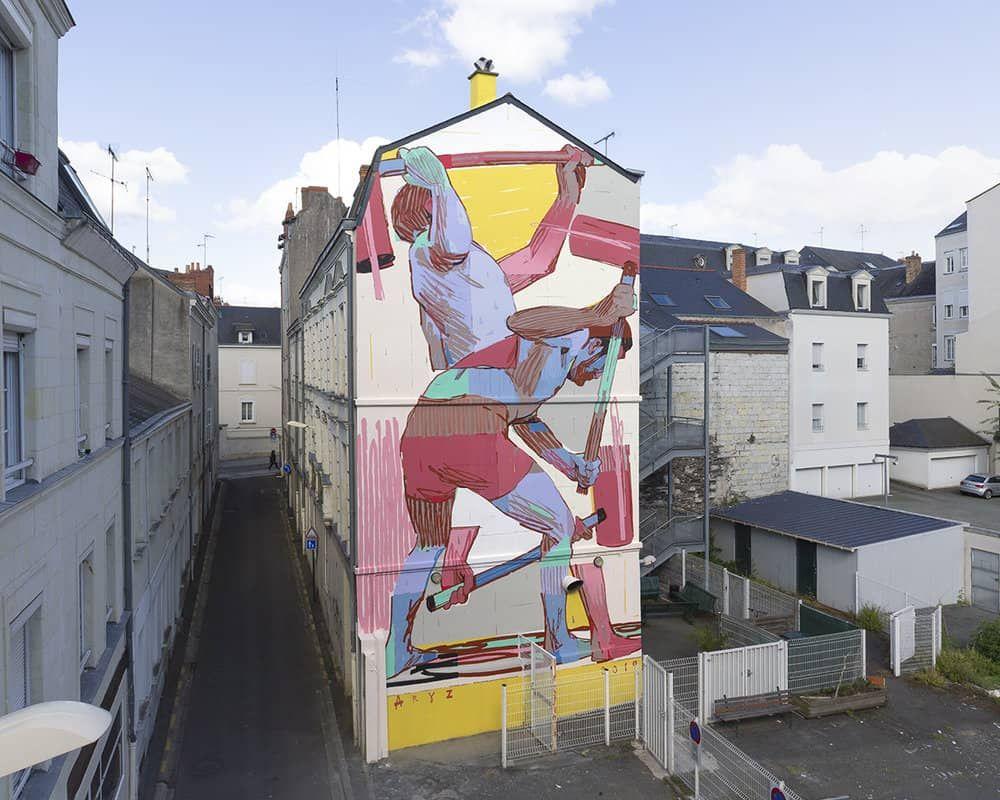 Aryz, murales contemporáneos a gran escala