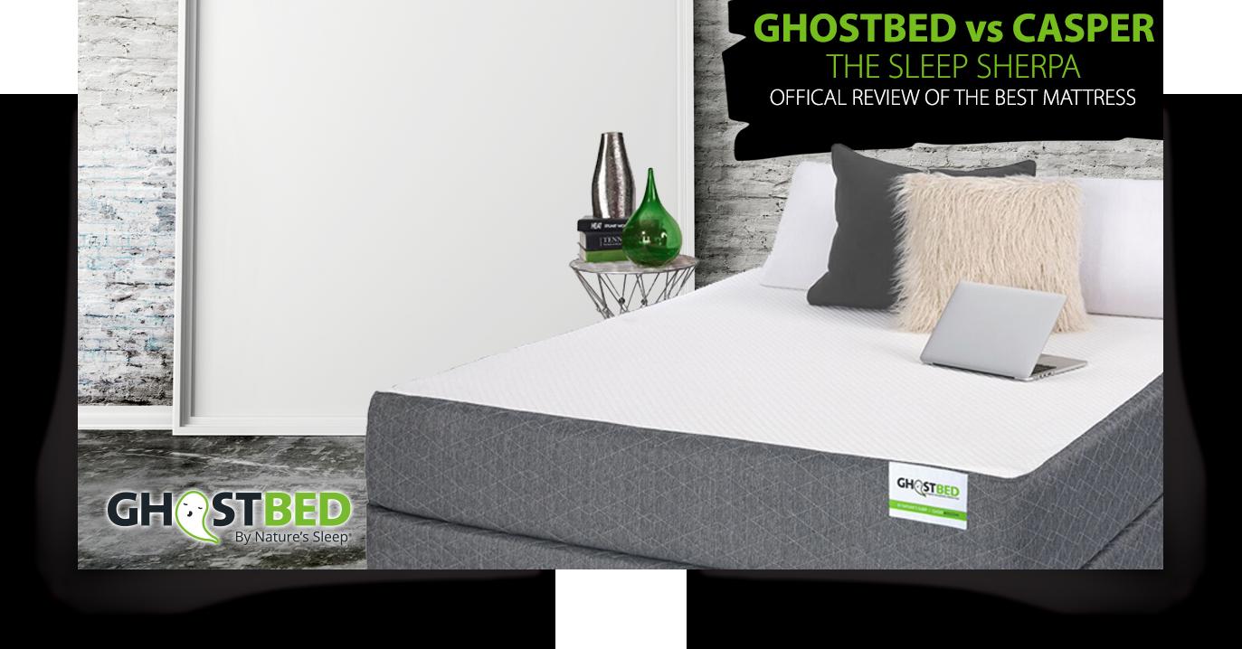 amazon com ghostbed queen latex gel memory foam luxury mattress
