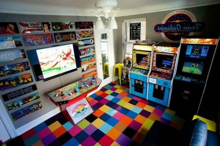 30 Cool Ultimate Game Room Design Ideas Game Room Design Game