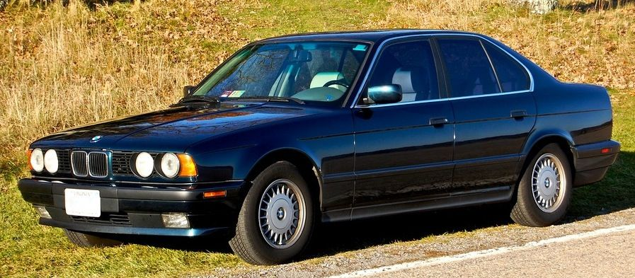 Video Bmw 5 Series History Third Generation E34 Carros Caminhonetes