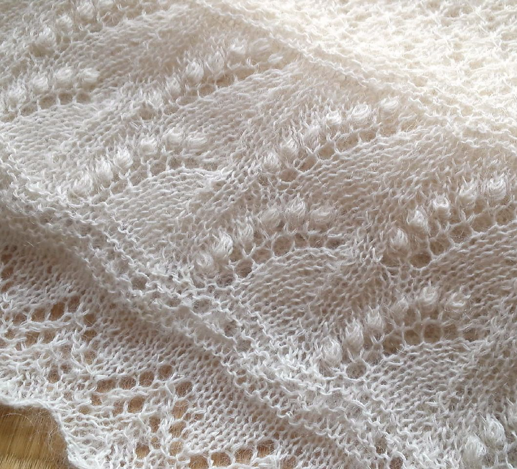 Lacy Scarf Knitting Patterns | Advent calendars, Knit patterns and ...