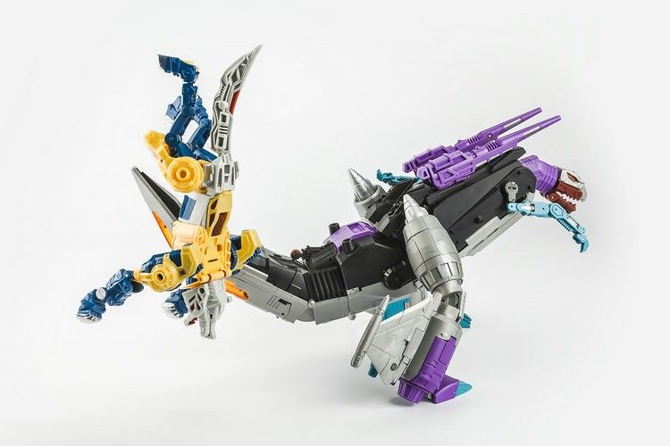 Transformers TOY KFC Eavi Metal Phase Ten A Kingzilla /& Komodus New instock