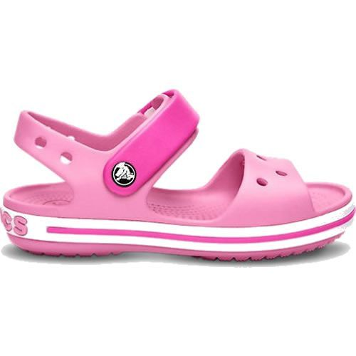 3ee06624244ec Crocs Crocband Sandals Party Pink She ll dazzle in our kids  sandal with  cute