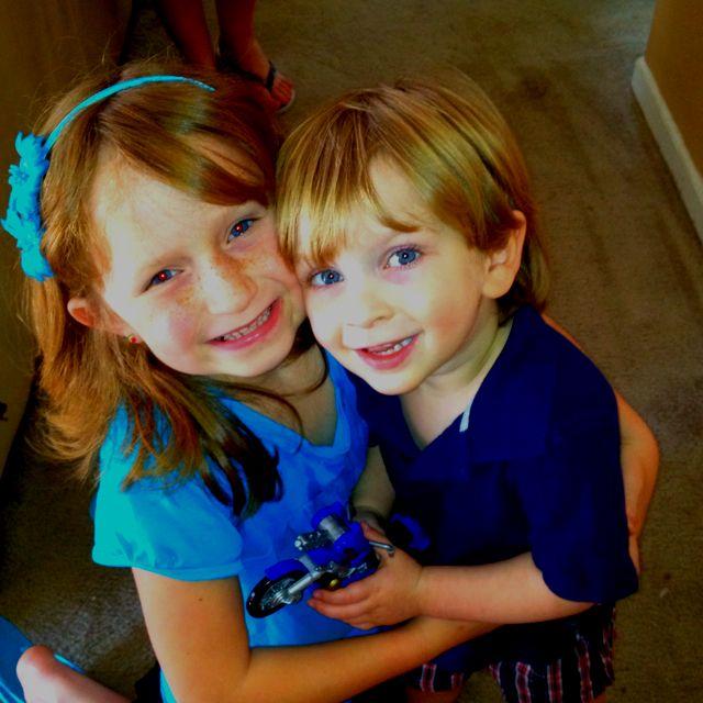 My two kiddos!