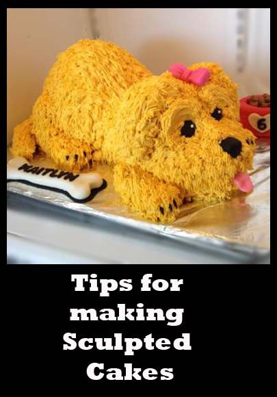 Puppy Cake | Little Delights Cakes  Tips for Making Sculpted Cakes