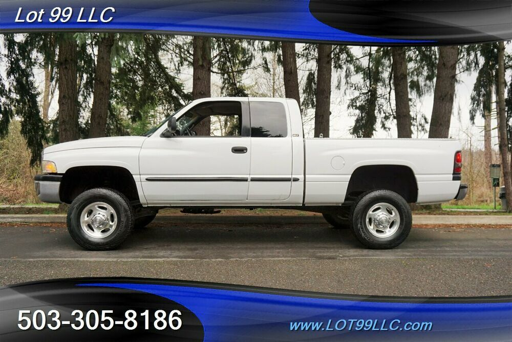 2001 Dodge Ram 2500 Slt Plus 4dr Quadcab 4x4 V10 Auto 126k Newer Tires Lifted Cars Extended Cab 4 Door Trucks
