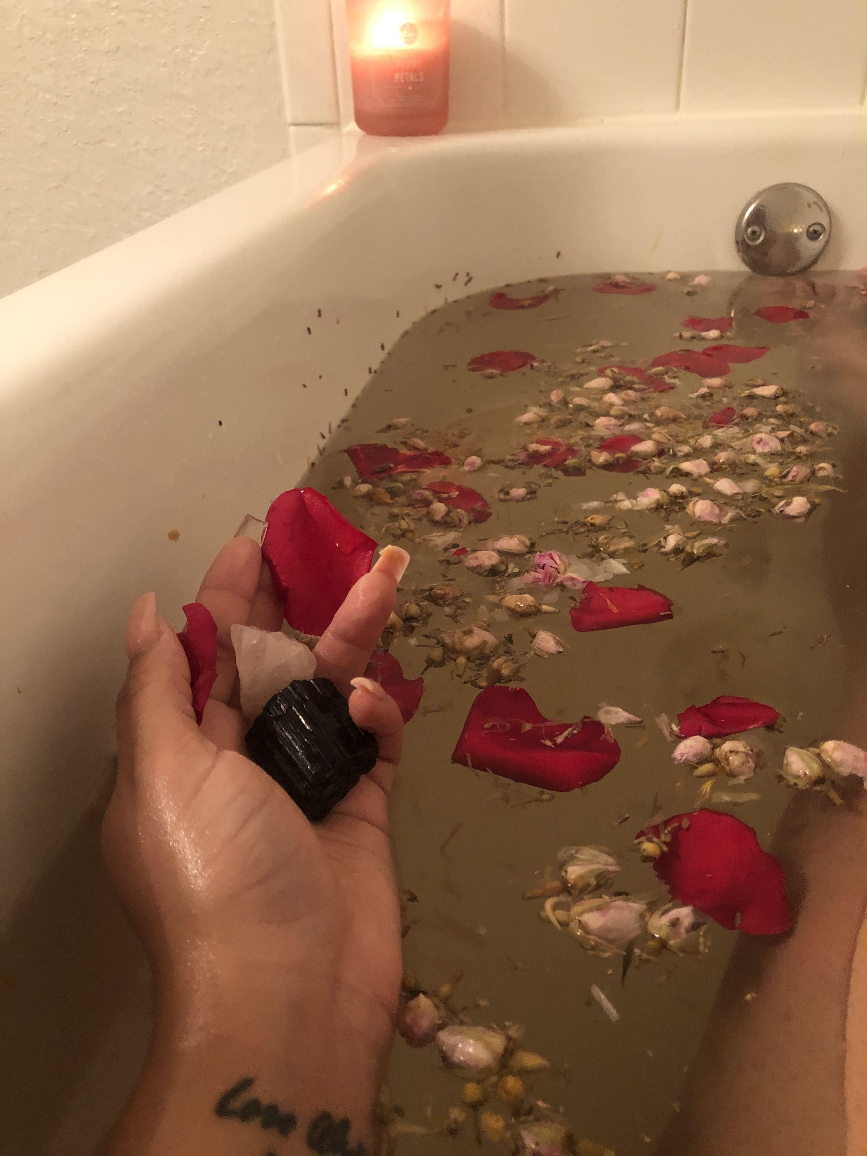 Spiritual Bath Spiritual Bath Bath Recipes Rose Petal Bath