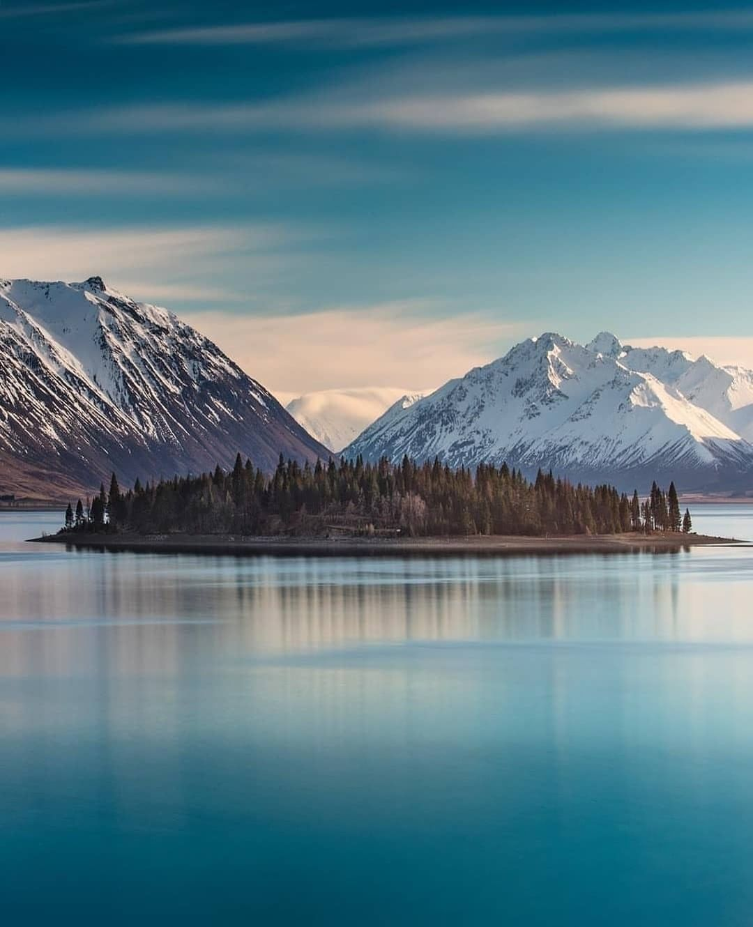 Mountain Island Is One Of Bill S Most Popular Paintings Stately Pines Stand On A Lonely Island In Landscape Paintings Canvas Photography Mountain Paintings