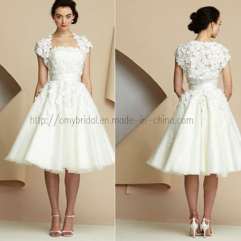 Bridal Dresses With Sleeves 2017 Short Sleeve Wedding Sd034