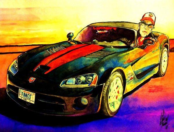 omaha  watercolor artist