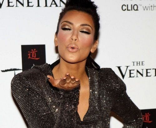 Kissy Face Kiss Kimk Kardashian Kimkardashian Fierce