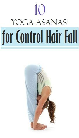 how to control hair fall yoga