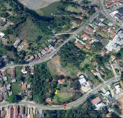 Terreno Abranches Curitiba, 3.886 m2, ZR2, aceita permuta