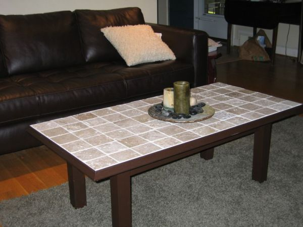 coffee table craft ideas tile on table top craft ideas tile tables 3673