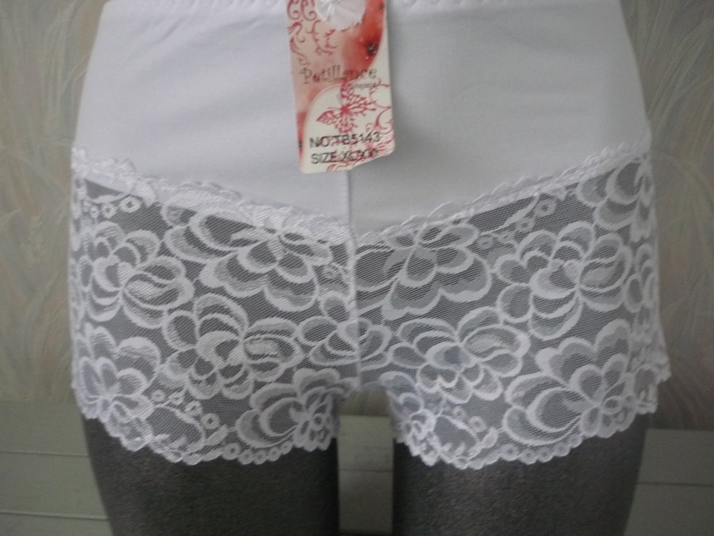 04917fa0d5 ladies white french knickers XL   12-14  fashion  clothing  shoes ...