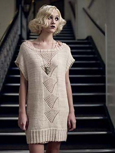 Ravelry: Patou Tunic pattern by Danielle Chalson