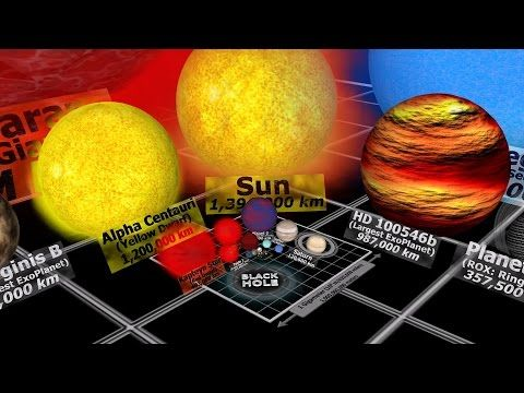 A 3D Animation That Compares the Scale of the Smallest Known