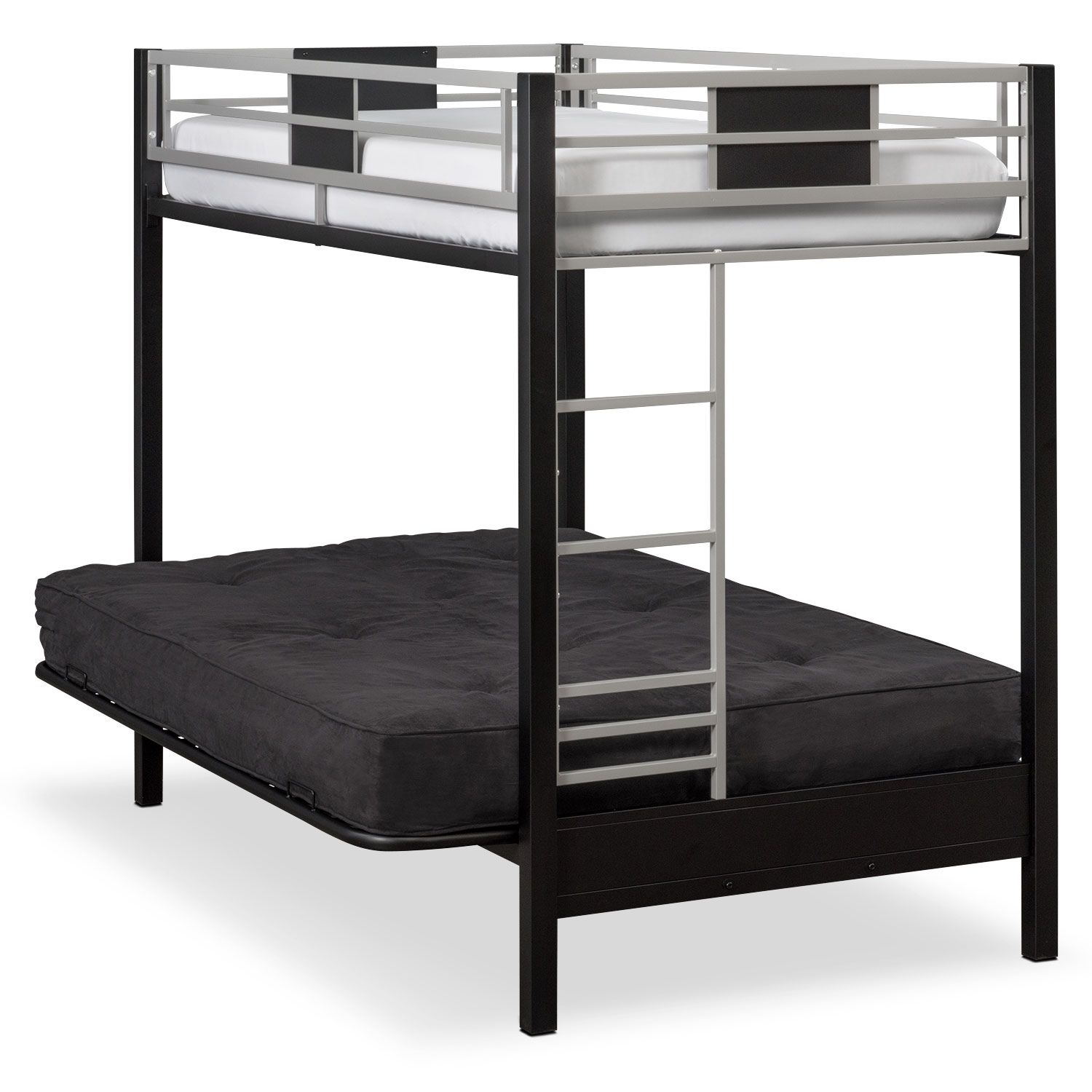 Futon Bunk Bed Black House Painting Budgeting