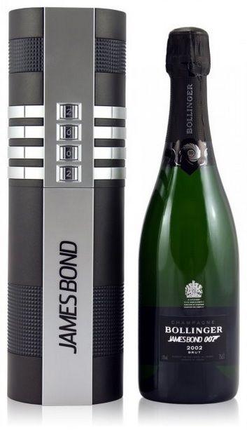 limited james bond edition bollinger la grande annee 002 for 007 champagne bollinger champagne. Black Bedroom Furniture Sets. Home Design Ideas