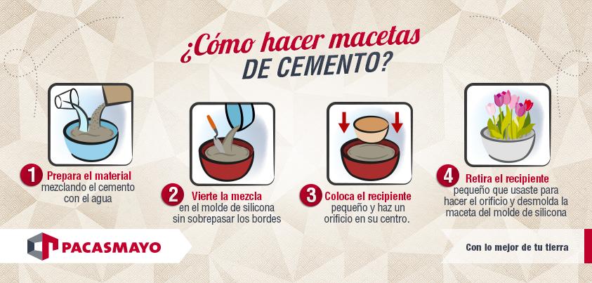 Cómo hacer macetas de cemento?   Consejos de Construcción   Pinterest