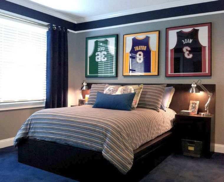 Best Nba Rooms Images On Pinterest Boy Bedrooms Bedroom