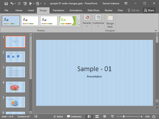 Pattern Fills For Slide Backgrounds In Powerpoint 2016 For Windows