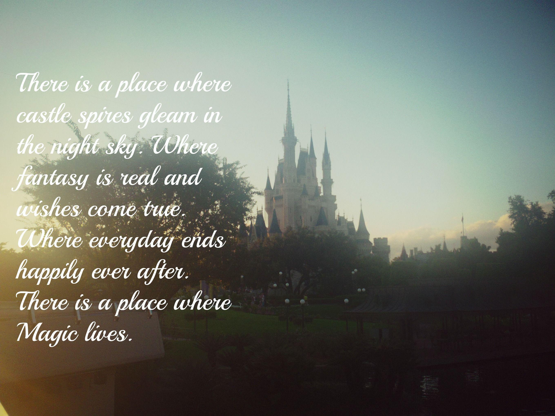 Walt Disney World Quote, Cinderella\'s castle   Disney world ...