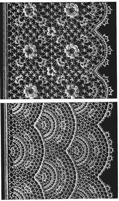 Pattern Book Irish Crochet Lace 30 Motifs 12 Borderstechniques