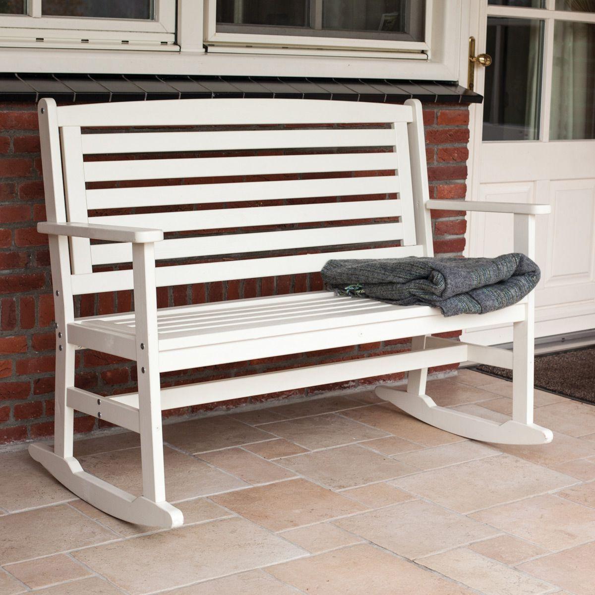 l ssige schaukelbank f r drinnen und drau en garden. Black Bedroom Furniture Sets. Home Design Ideas