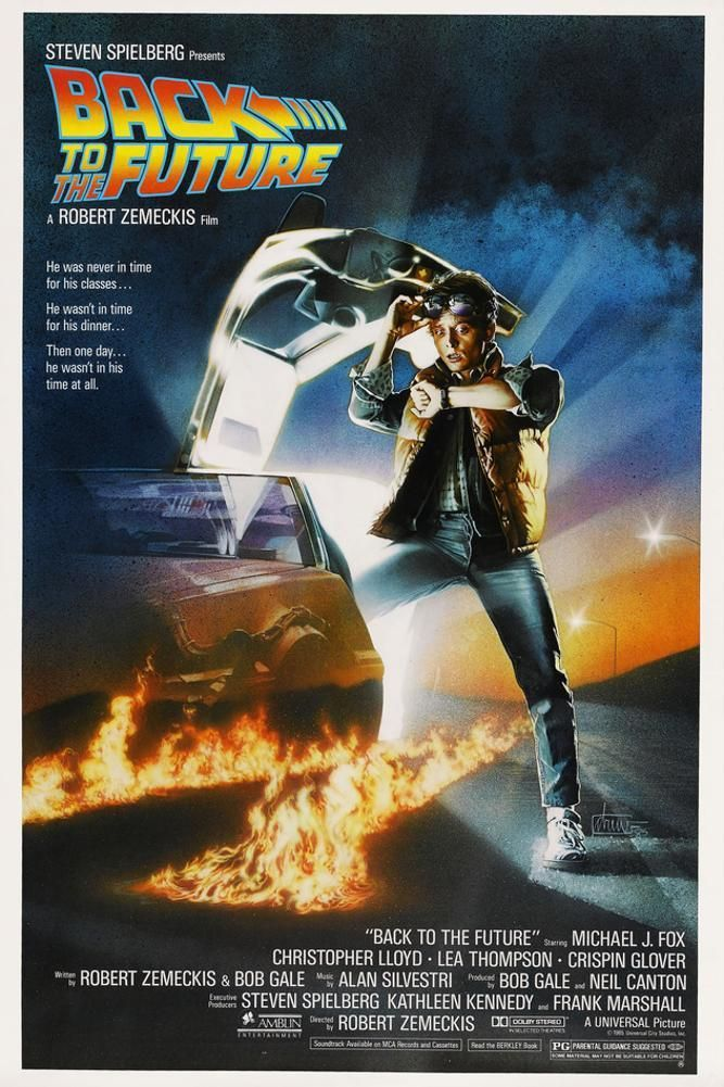 BACK TO THE FUTURE [1985], directed by ROBERT ZEMECKIS