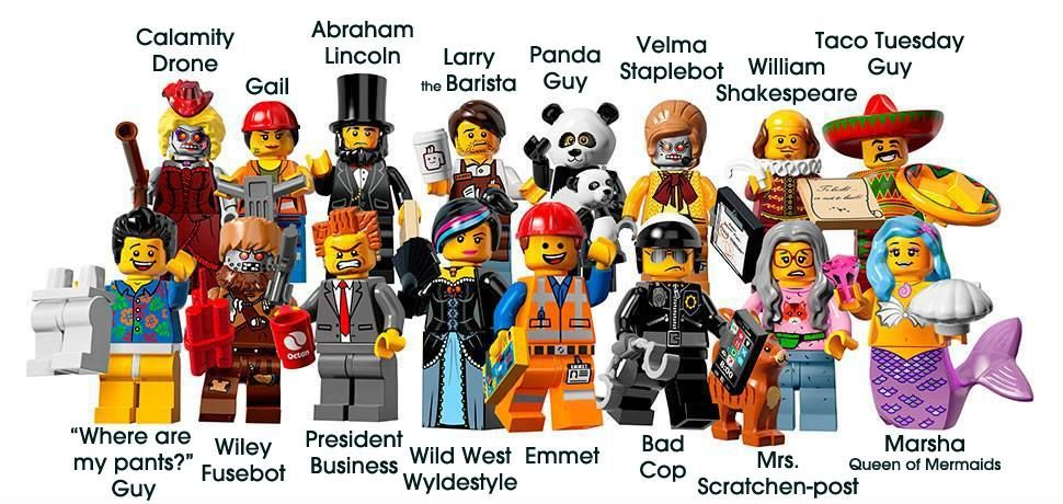 8 William Shakespeare New in Opened Packaging LEGO Movie Minifigure 71004 no