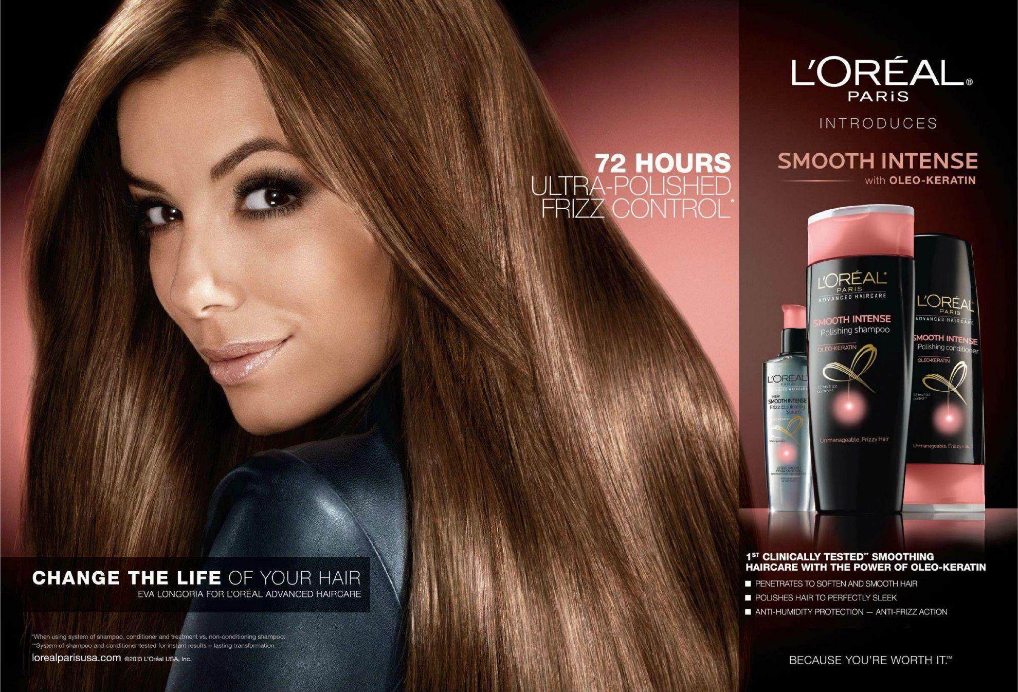 Eva Longoria For L Oreal Elvive Loreal Hair Loreal Hair Care