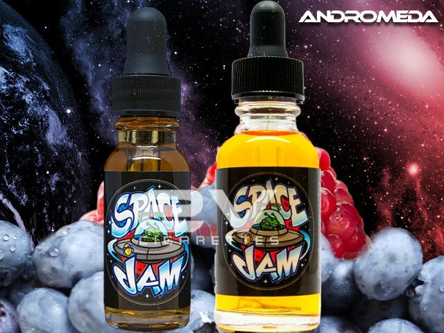 Andromeda: A mix of blueberries and pomegranate done right!