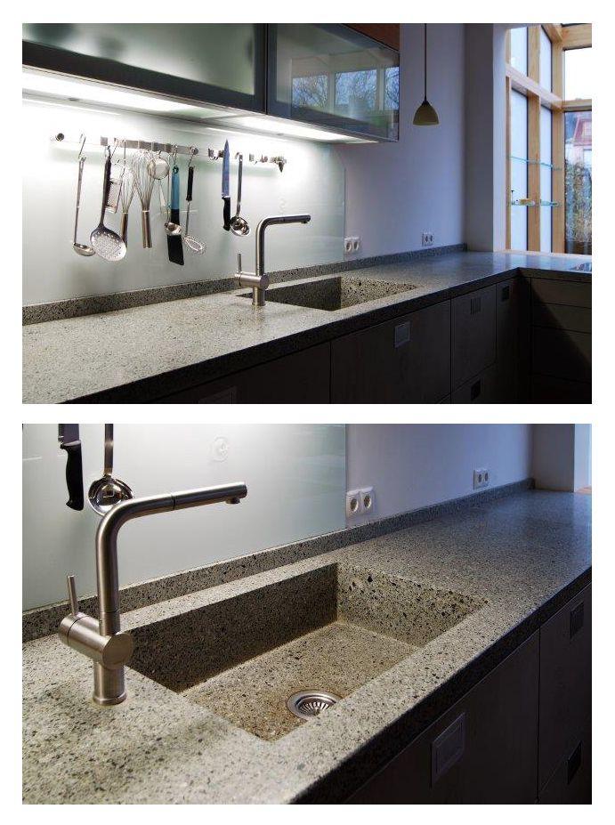 pin von material raum form auf k chen pinterest arbeitsplatte k che beton und k che einrichten. Black Bedroom Furniture Sets. Home Design Ideas