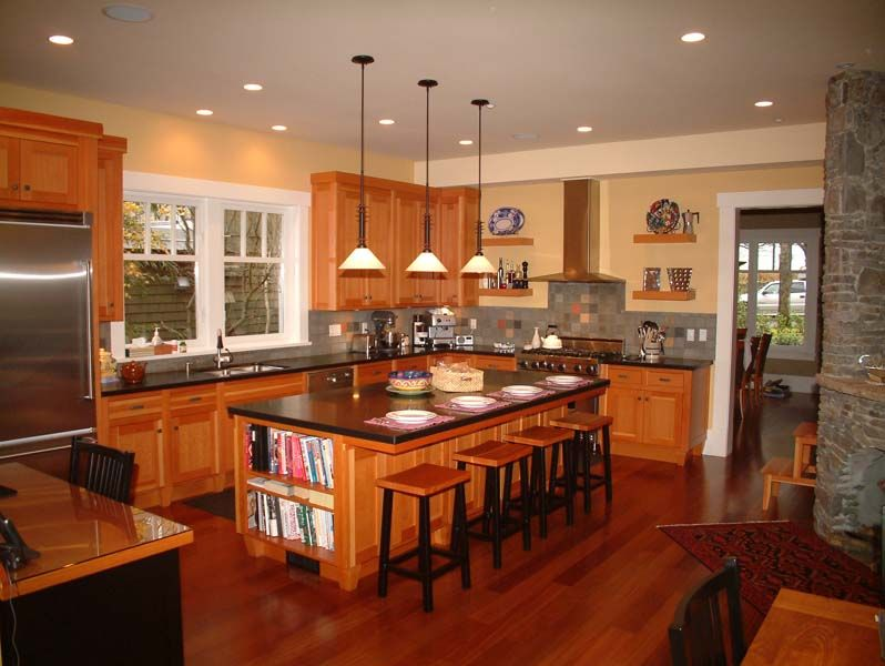 Traditional Kitchen Design Gallery 40 magnificent kitchen designs with dark cabinets | countertop
