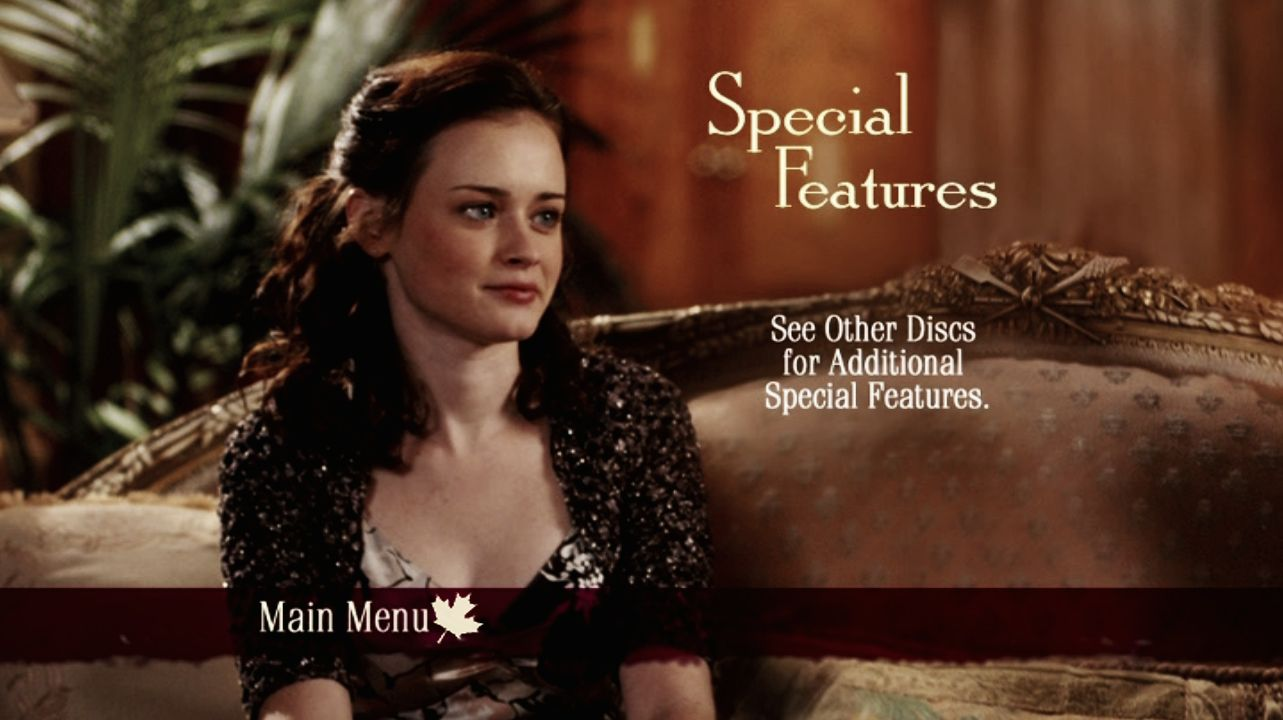 Gilmore Girls - Season 5, Disc 4 - Special Features