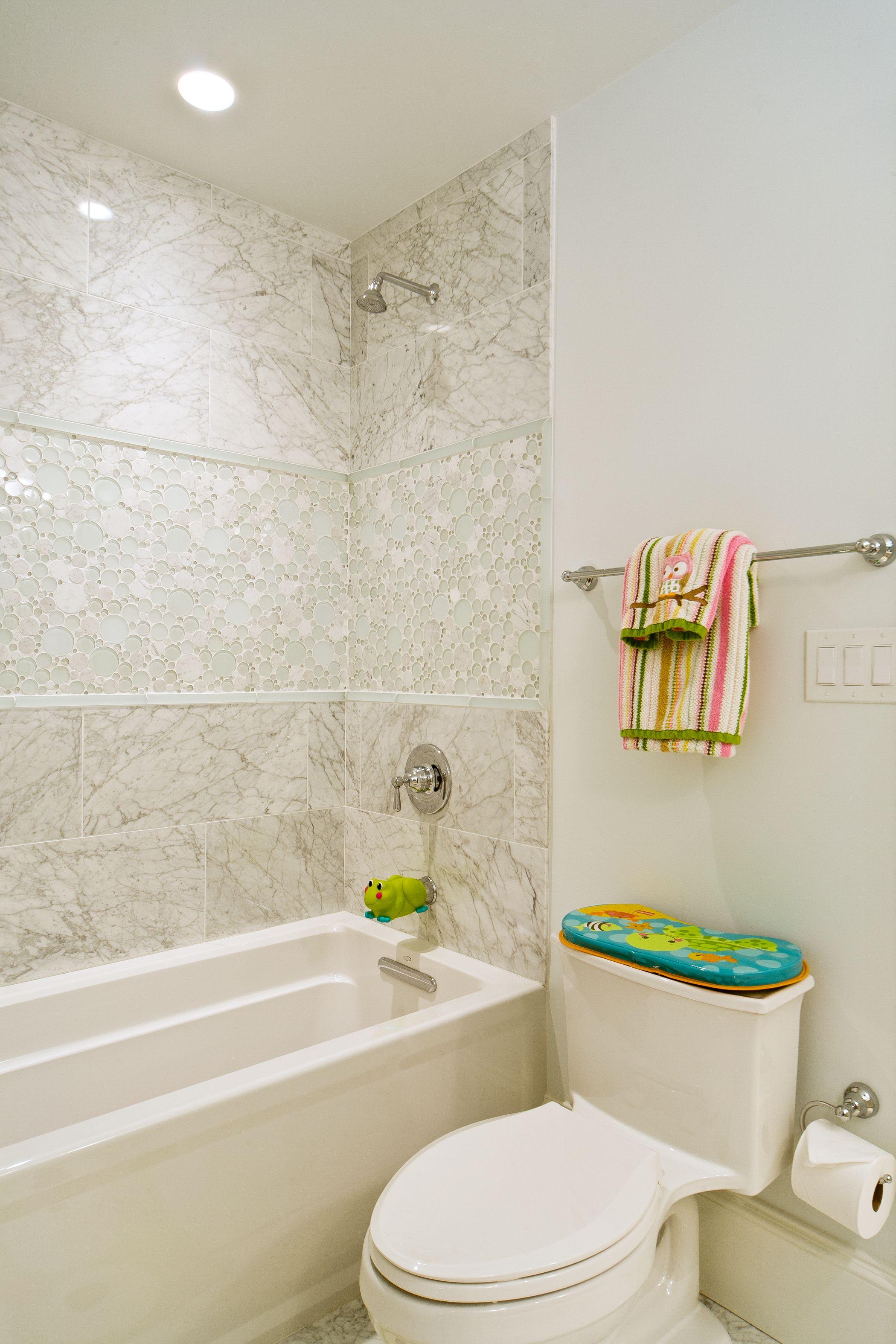 Great quality kids bathroom remodel built by J Allen Smith Design