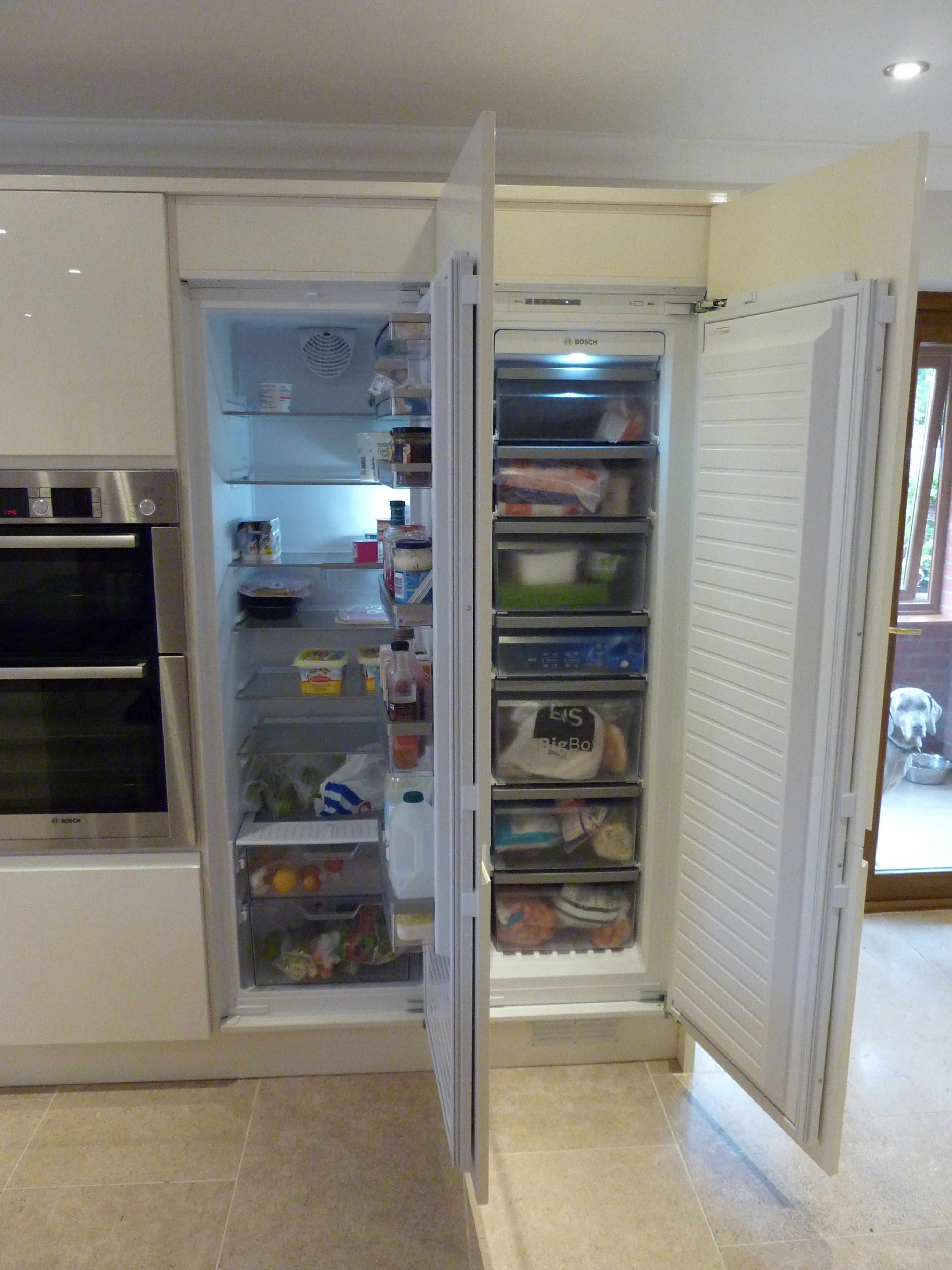 Uncategorized Bosch Integrated Kitchen Appliances bosch integrated fridge freezer kitchen pinterest freezer