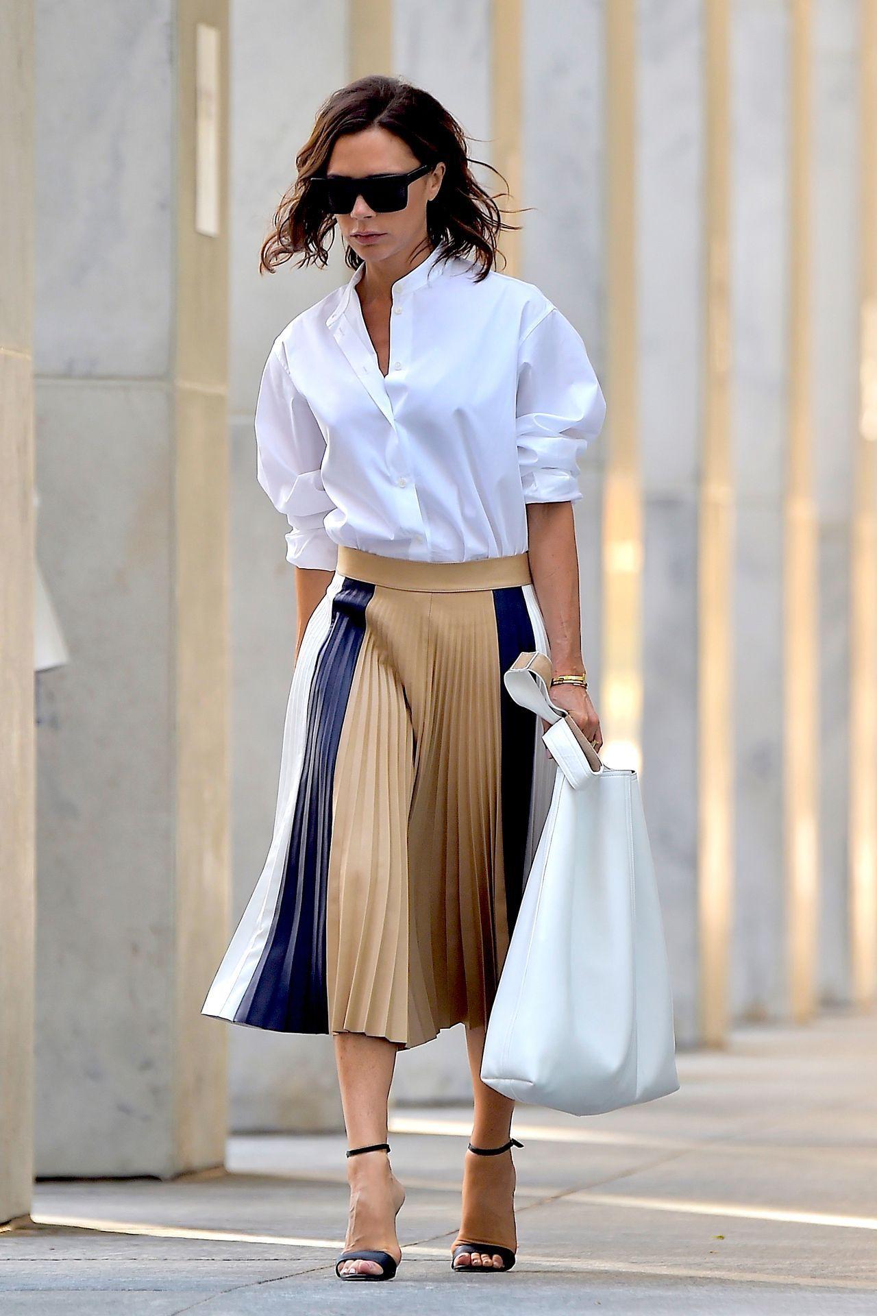 d9d93d948c Victoria Beckham style outfit clothes dress celebrity ootd singer designer  fashion sunglasses trousers pants skirt blouse tshirt shirt hoodie elegant  ...
