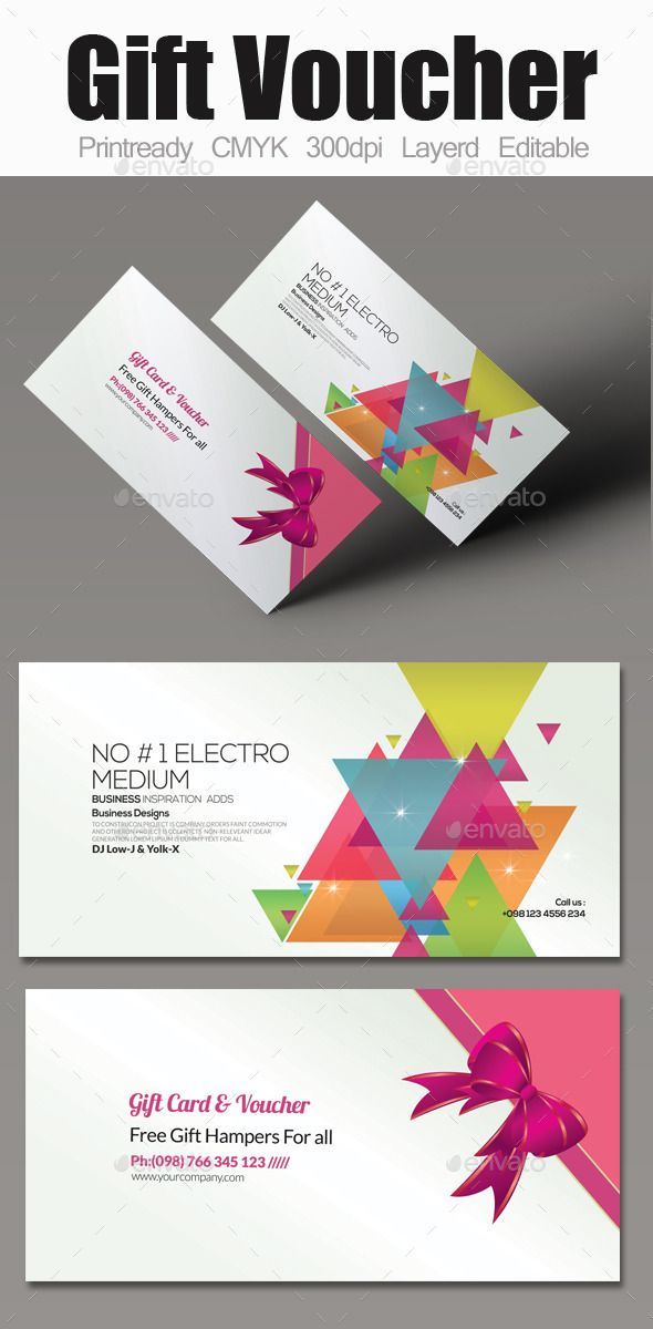 Multi Use Business Gift Voucher | Gift vouchers, Business and Font ...